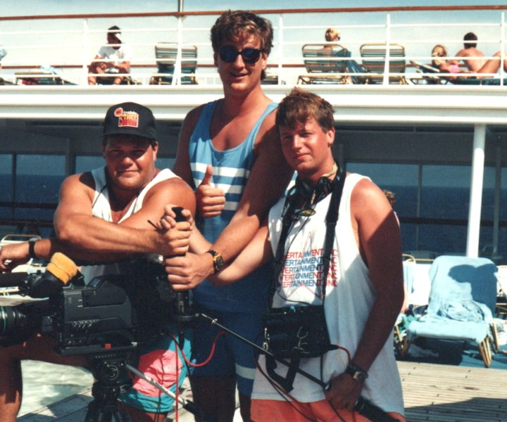 It was postseason NBA, 1991 and our assignment was a rough one. Cover a handful of NBA players on a 5-day cruise (The NBA Allstar Cruise on Norwegian Cruiseline) in the Bahamas. Ah, ok!